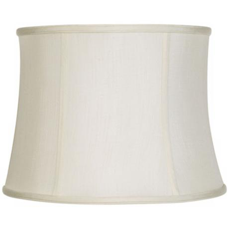 Imperial Collection Creme Drum Lamp Shade 14x16x12 (Spider)