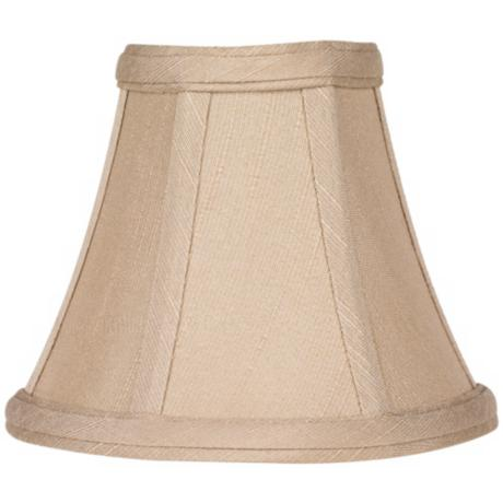 Imperial Taupe Fabric Lamp Shade 3x6x5 (Clip-On)