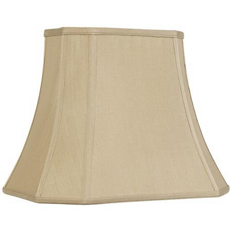 Imperial Taupe Rectangle Cut Corner Shade 10x16x13 (Spider)