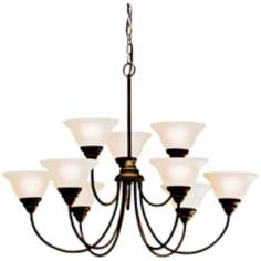 Kichler Telford Olde Bronze Finish 9-Light Chandelier