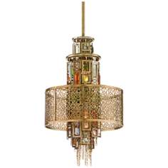 Corbett Riviera 2-Light Mini-Pendant Chandelier
