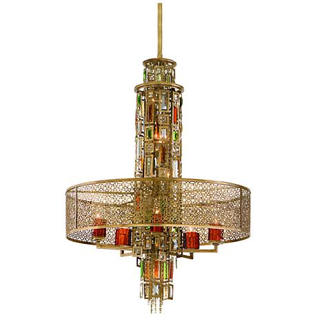 Corbett Riviera 10-Light Pendant Chandelier