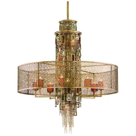 Corbett Riviera Collection 13-Light Pendant Chandelier