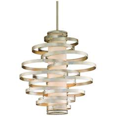 Corbett Vertigo Collection 4-Light Silver Pendant Chandelier
