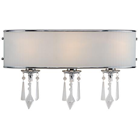 "Echelon Bridal Veil 21"" Wide Bathroom Wall Light"
