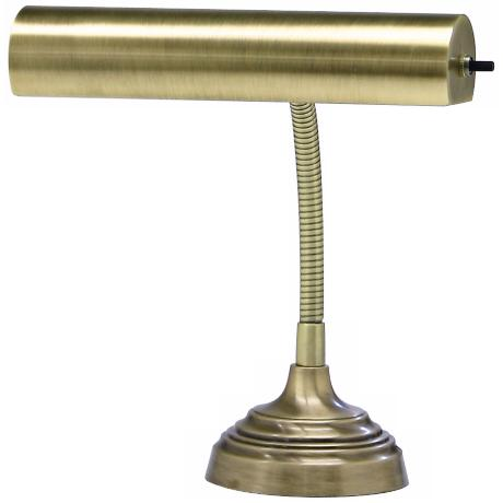 House of Troy Advent Antique Brass Piano Desk Lamp