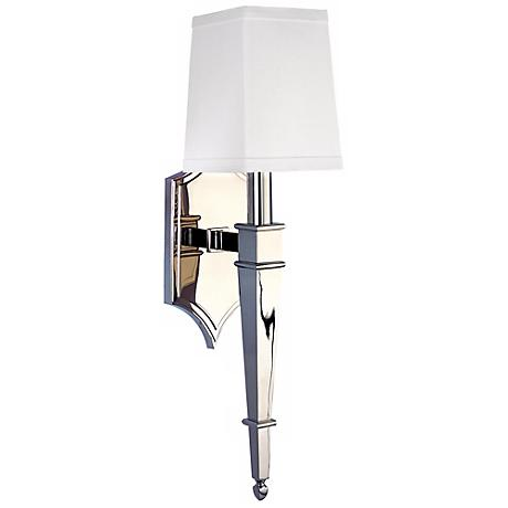 Hudson Valley Norwich Polished Nickel 1-Light Wall Sconce