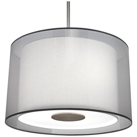 Robert Abbey Saturnia Stainless Steel Pendant Light