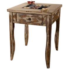 Uttermost Tic-Tac-Toe End Table
