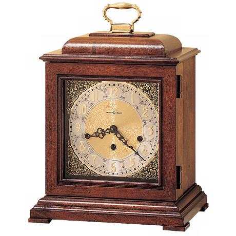 "Howard Miller Samuel Watson 14 3/4"" High Tabletop Clock"
