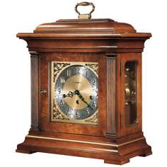 "Howard Miller Thomas Tompion 18 1/4"" High Tabletop Clock"