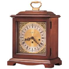 "Howard Miller Graham Bracket 14 1/4"" High Tabletop Clock"