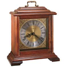 "Howard Miller Medford 11 1/2"" High Tabletop Clock"