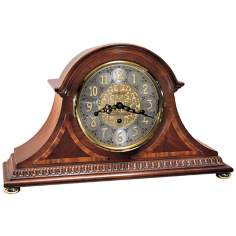"Howard Miller Webster 18"" Wide Mantel Clock"