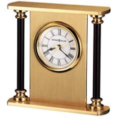 "Howard Miller Casey 4 1/2"" High Tabletop Alarm Clock"