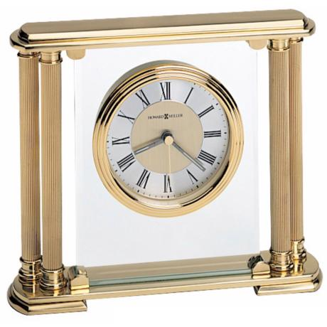 "Howard Miller Athens 7 3/4"" WideTabletop Clock"