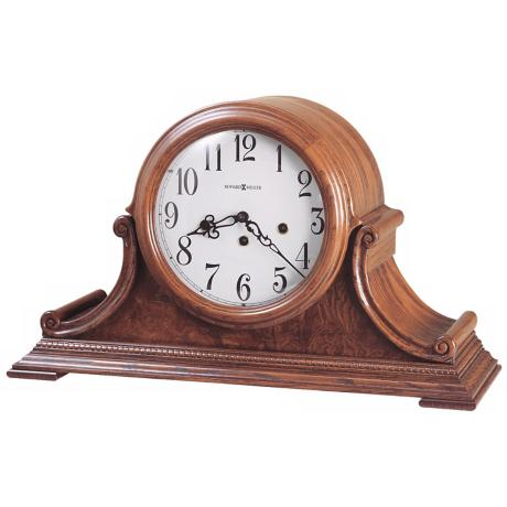 "Howard Miller Hadley 19"" Wide Tabletop Clock"