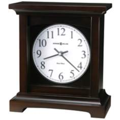 "Howard Miller Urban Mantel 10"" High Tabletop Clock"