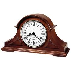 "Howard Miller Burton II 17"" Wide Tabletop Clock"