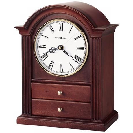 "Howard Miller Kayla 12"" High Tabletop Clock"