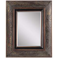 "Uttermost Rola 42 1/2"" High Rectagular Wall Mirror"