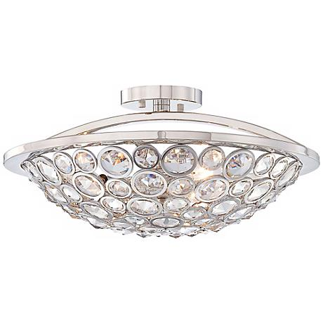 "Metropolitan Magique 18"" Wide Semi-Flush Ceiling Light"