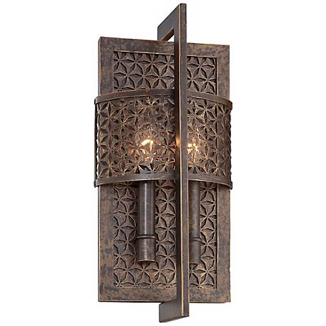 "Metropolitan Ajourer Collection 15 1/2"" High Wall Sconce"