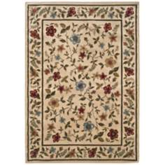 Bexley Collection Merrifield Beige Area Rug