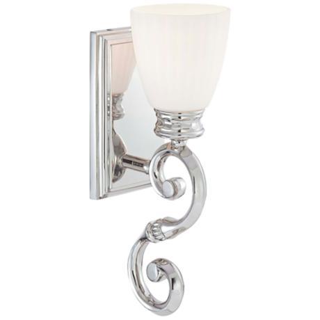 "Metropolitan Bath Collection Scroll 15 1/4"" High Bath Light"
