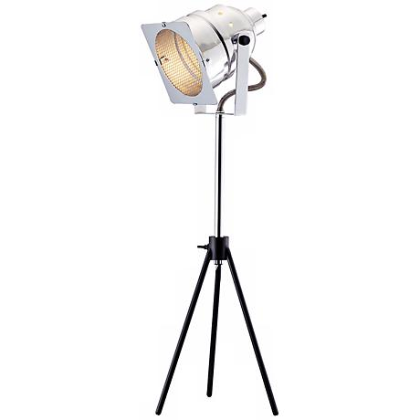 In Studio Adjustable Steel Table Lamp