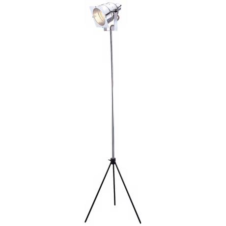 In Studio Adjustable Steel Floor Lamp - #R4528 | LampsPlus.