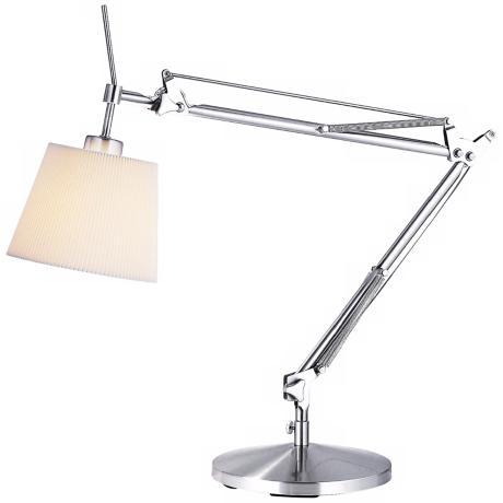 Bloomfield Satin Steel Adjustable Table Lamp