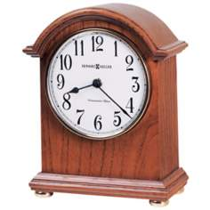 "Howard Miller Myra 8 3/4"" High Tabletop Clock"