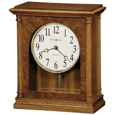 "Howard Miller Carly 11 1/2"" High Tabletop Clock"