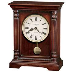 "Howard Miller Langeland 13 1/2"" High Tabletop Clock"