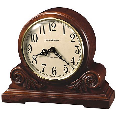 "Howard Miller Desiree 12 1/4"" Wide Tabletop Clock"
