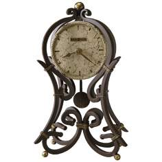 "Howard Miller Vercelli 12"" High Mantel Clock"