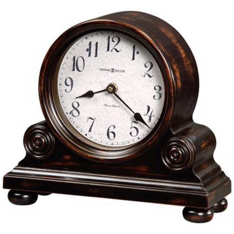 "Howard Miller Murray 12 1/4"" Wide Tabletop Clock"