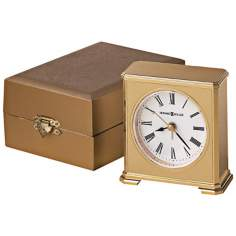 "Howard Miller Camden 3 1/2"" High Tabletop Alarm Clock"