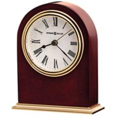 "Howard Miller Craven 4 3/4"" High Tabletop Clock"