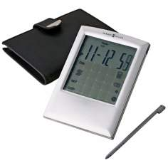 "Howard Miller Touch Time 5"" High Alarm Clock"
