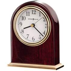"Howard Miller Monroe 5 1/2"" High Table Clock"
