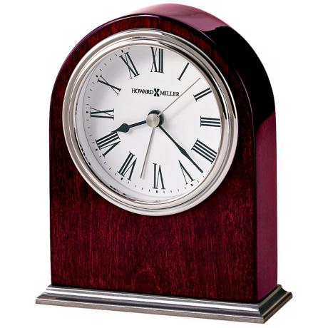 "Howard Miller Walker 5 1/2"" High Table Alarm Clock"