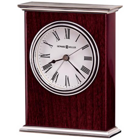 "Howard Miller Kentwood 5 1/2"" High Alarm Clock"