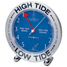 "Howard Miller Tide Mate III 6 1/4"" High Table Clock"