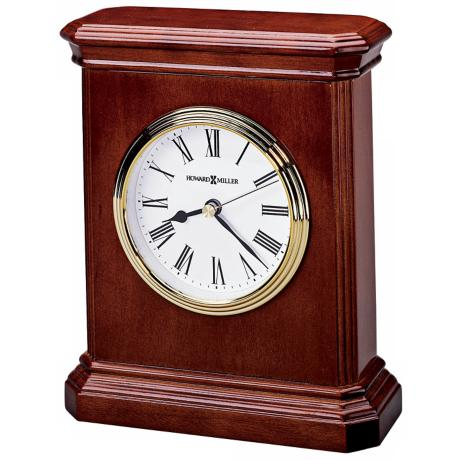 "Howard Miller Windsor 7"" High Carriage Table Clock"