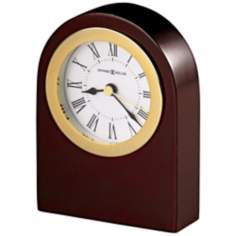 "Howard Miller Rosemary Arch 4"" High Tabletop Clock"