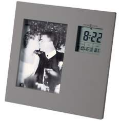 "Howard Miller Picture This 7"" High Alarm Clock"