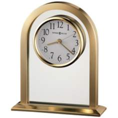 "Howard Miller Imperial 7 1/2"" High Table Clock"