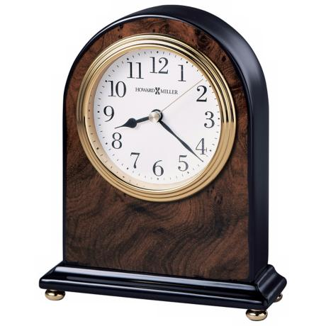 "Howard Miller Bedford 6 1/2"" High Table Clock"